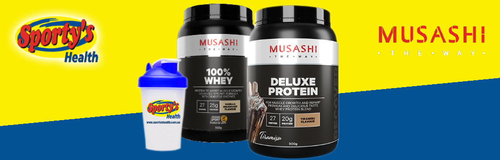 Musashi Deluxe Protein Image