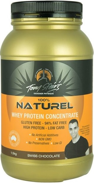 Whey Concentrate chocolate tony sfeirs