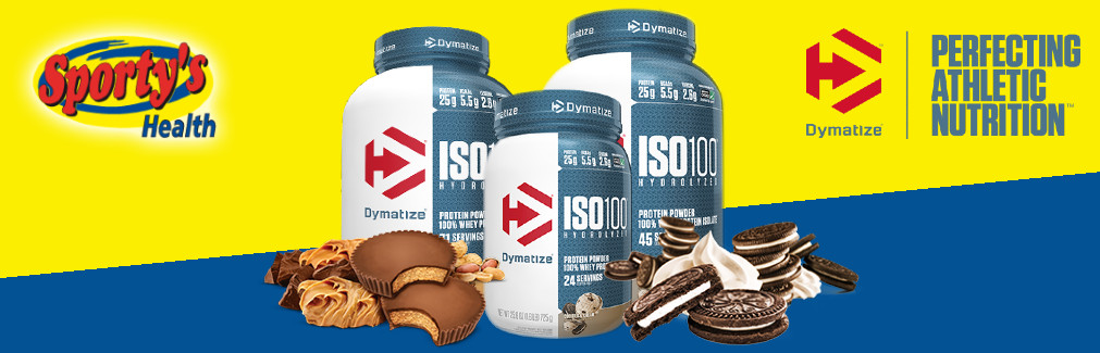 Dymatize Hydrolyzed Whey Protein Isolate Banner