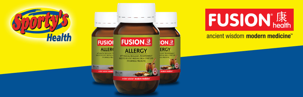Fusion Health Allergy Banner