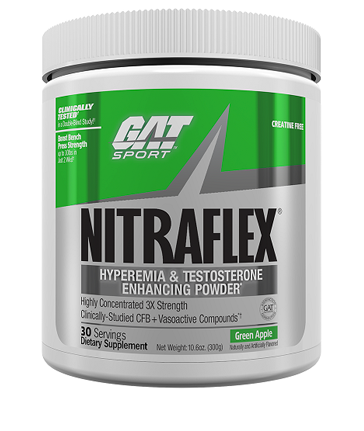 gat nitraflex green apple