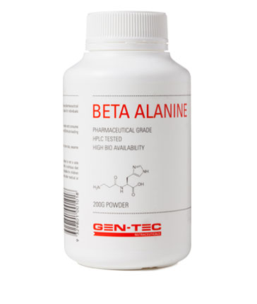 gen-tec beta-alanine tub
