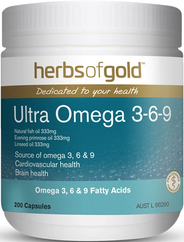 Ultra Omega Herbs of Gold