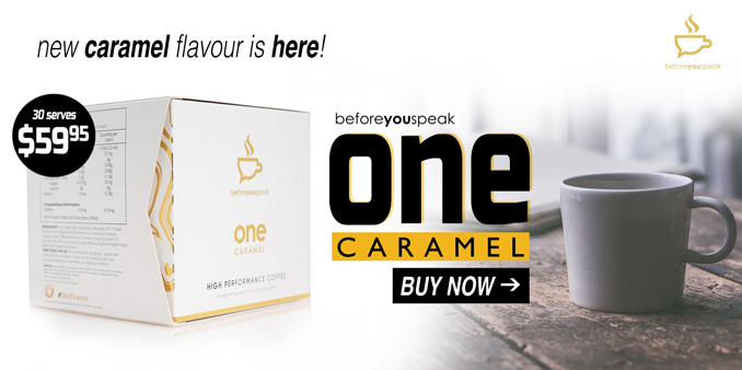 Before You Speak One Coffee - Caramel Flavour