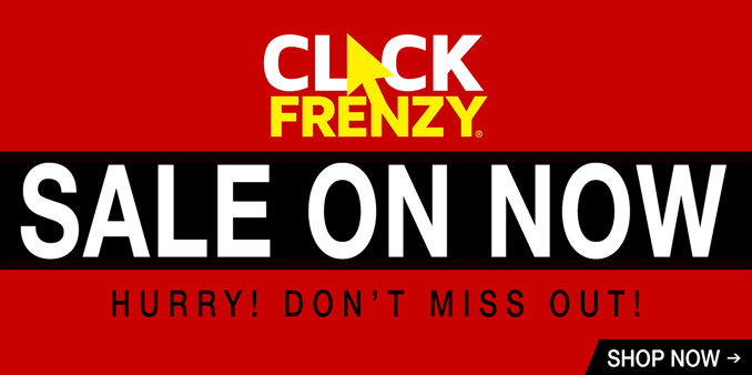 Click Frenzy Sale On Now