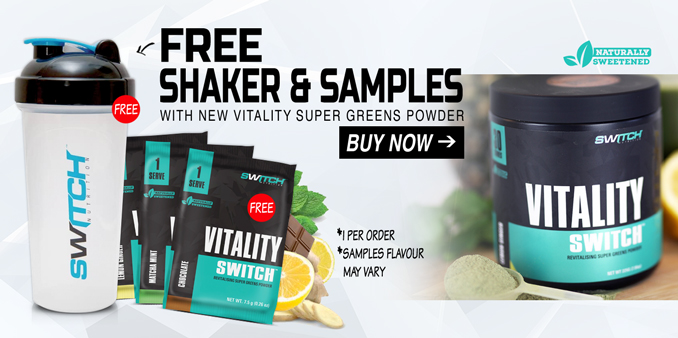 Switch Nutrition Vitality Switch Banner