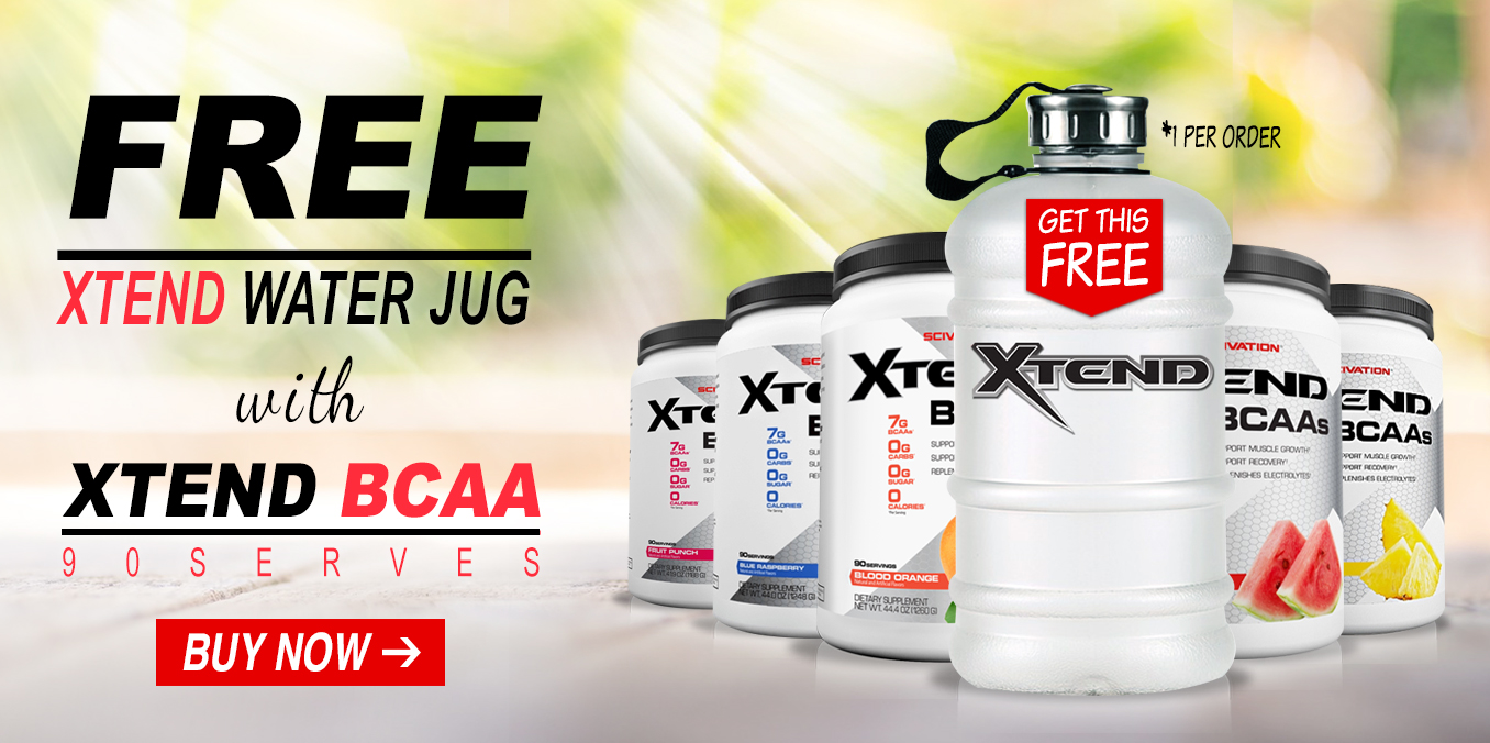 Free Xtend Water Jug with Xtend 90serves