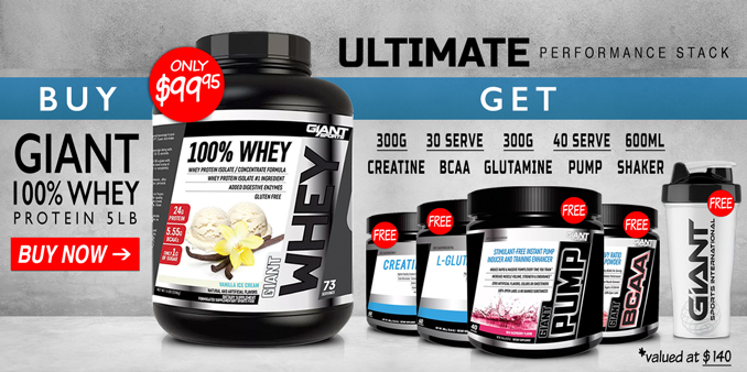 Giant Sports Ultimate Performance Stack