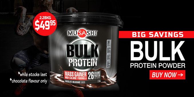 Musashi Bulk Protein Lowest Price
