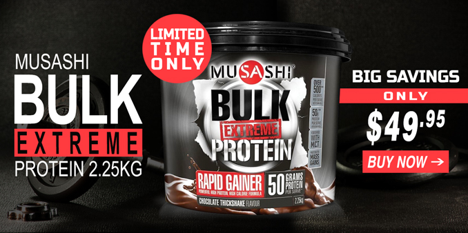 Musashi Bulk Extreme Protein Lowest Prices