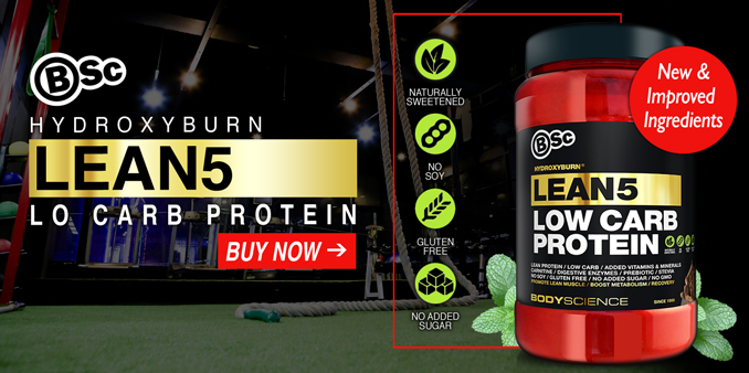 New and Improved Ingredients - BSc LEAN 5 Protein Available Now!