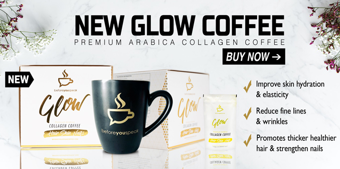 Glow Collagen Coffee Available Now