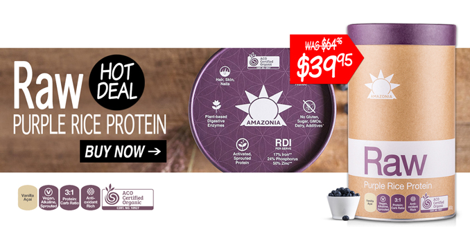 Lowest Price Raw Purple Rice Protein