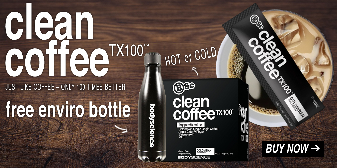 Free BSc Enviro Bottle with BSc Clean Coffee