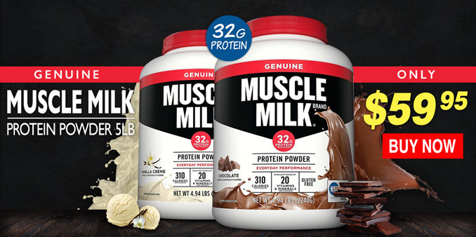 Cytosport Muscle Milk 5lbs On Sale Banner