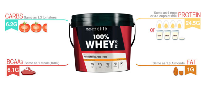Horleys 100% Whey Protein Image