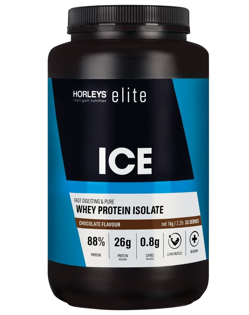 a container of ice whey chocolate 1kg