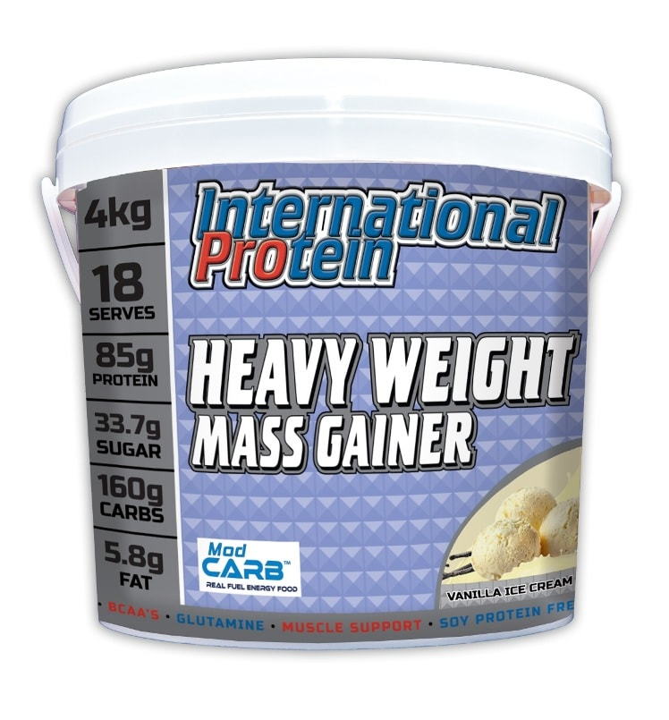 International Protein Heavyweight Mass Gainer Bucket