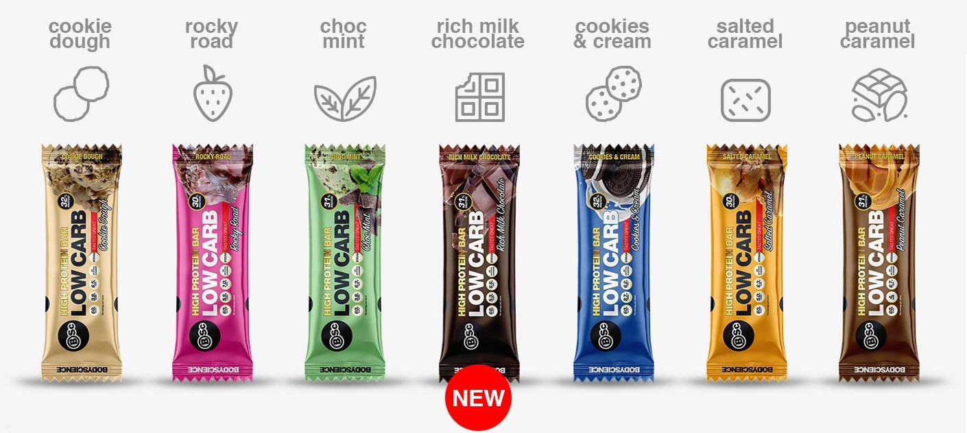 BSc Protein Bars Banner