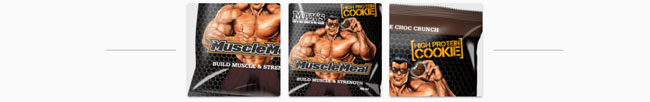 muscle meal cookie information