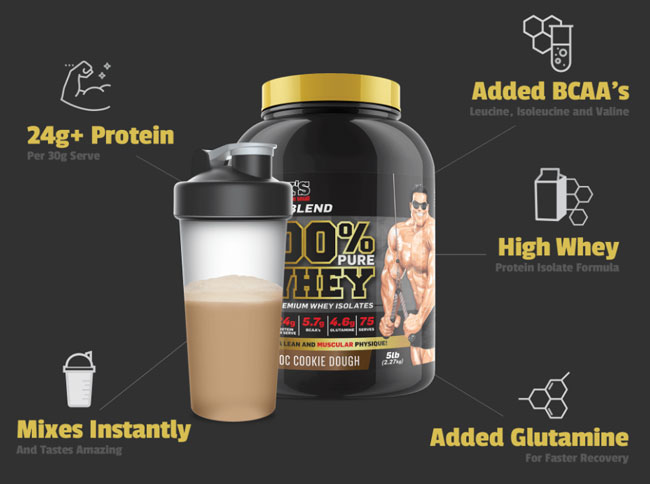 maxs 100% whey protein selling points