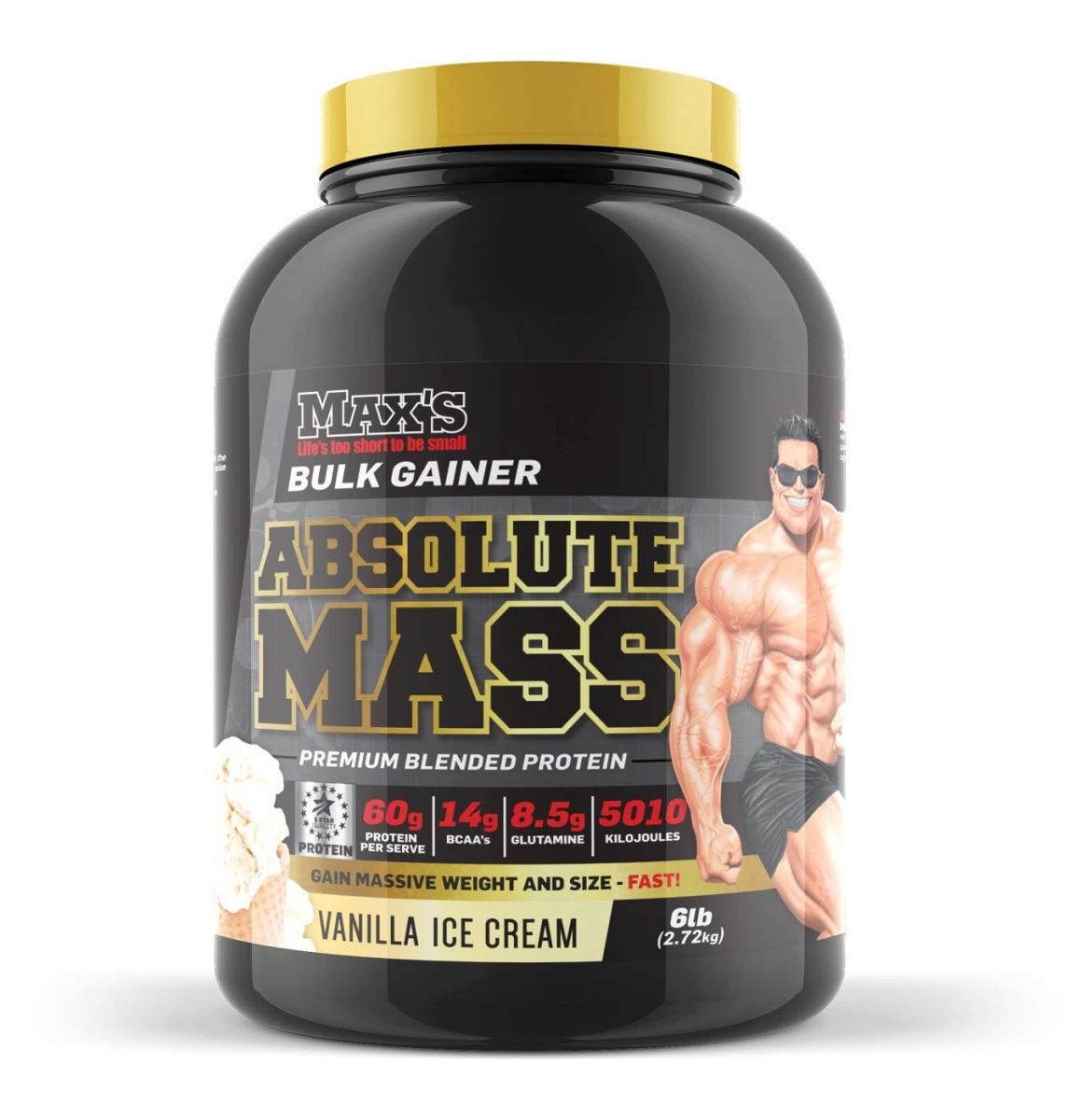 mass gainer from maxs