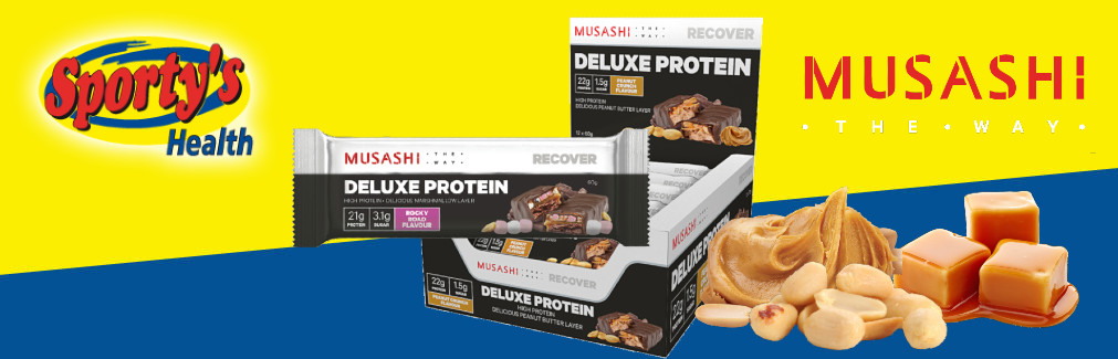 Deluxe Protein Bar Banner