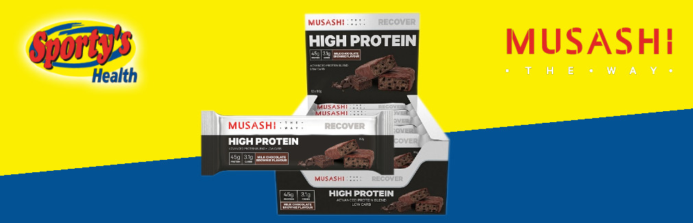 Musashi Protein Bar High Quality