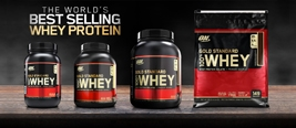 range of optimum nutrition products