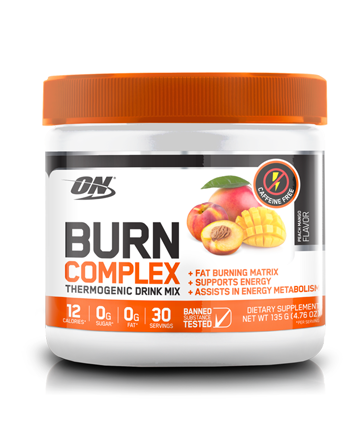optimum nutrition burn caffeine free