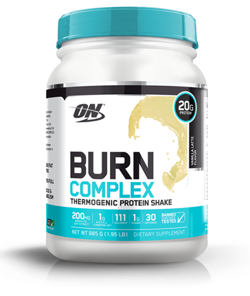 optimum nutrition burn vanilla