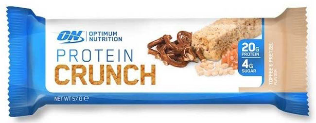 ON protein crunch bars