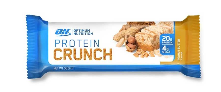 ON protein crunch peanut butter flavour