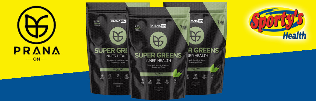 Prana Greens Powder Banner