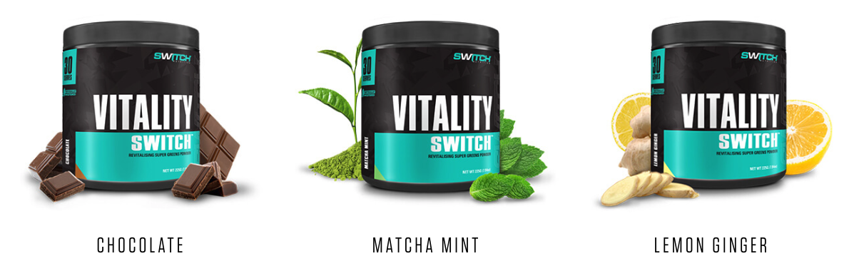 Vitality Switch Flavours
