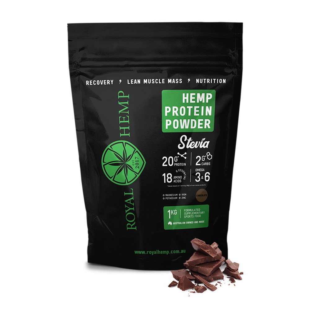 royal hemp with stevia and cocoa