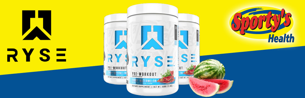 Ryse Pre Workout Banner