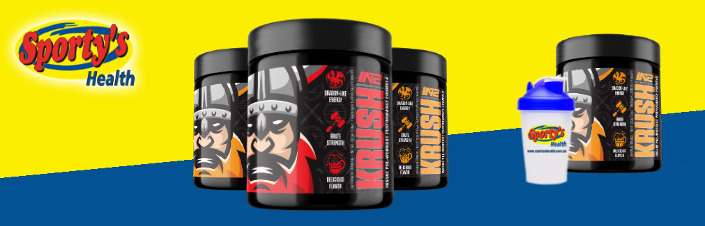 Krush Pre Workout Banner