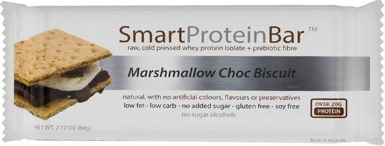 s marshmallow protein bar