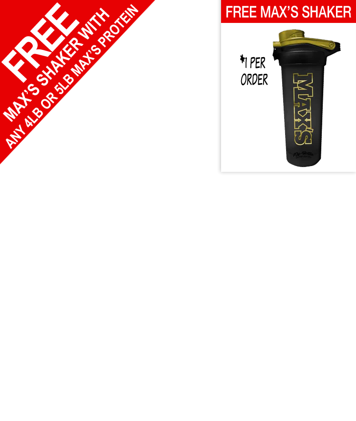 Free Maxs Shaker with Large Maxs Proteins