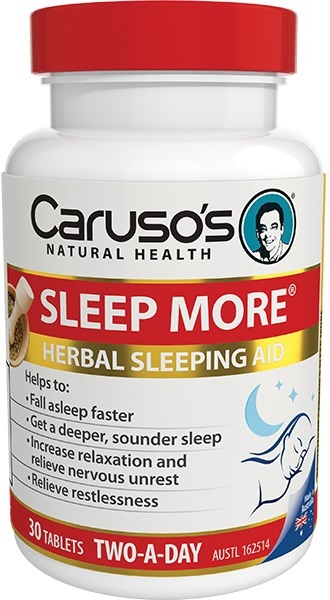 sleep more bottle of tablets
