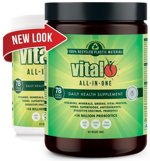 vital all in one new packaging materials