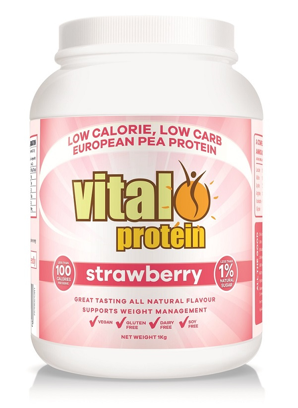 vital greens vital protein strawberry