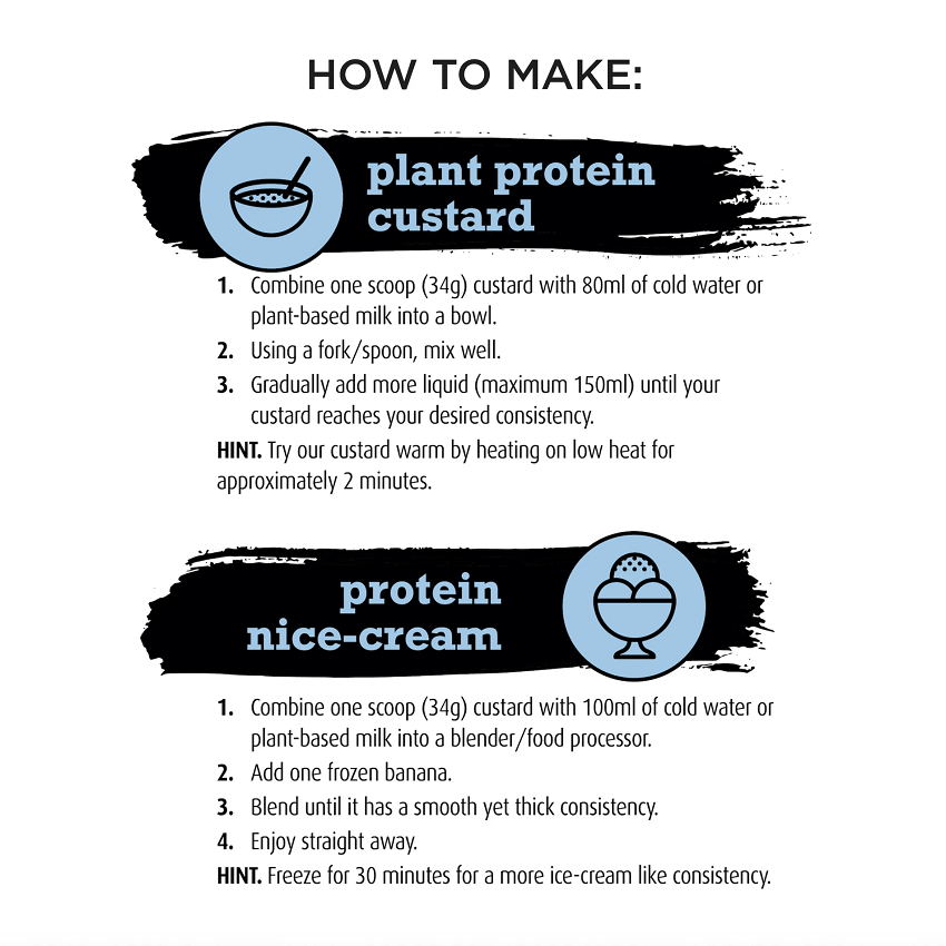 Protein Custard Directions