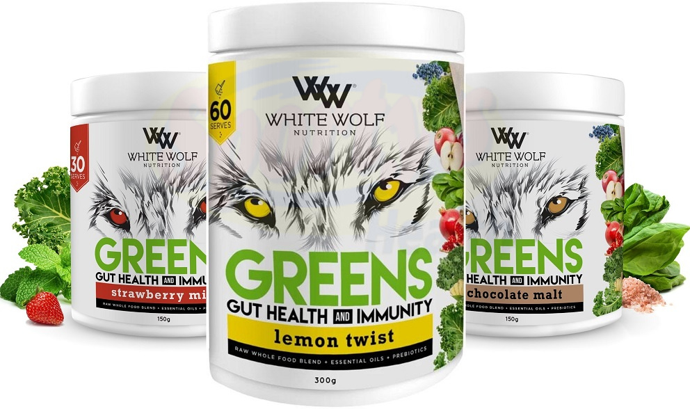 White Wolf Greens Powder Banner