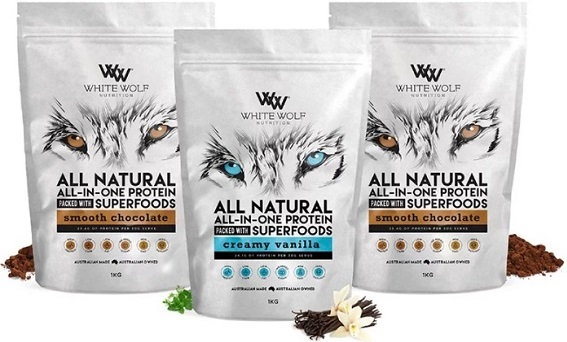 white wolf protein flavours
