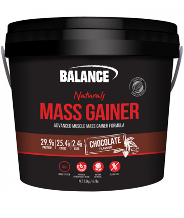 Balance Original Mass Gainer, also known as Balance Naturals Mass Gainer