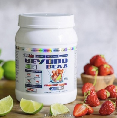beyond bcaa surrounded by fruit