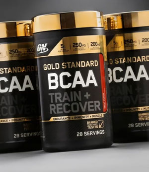 a range of BCAA products