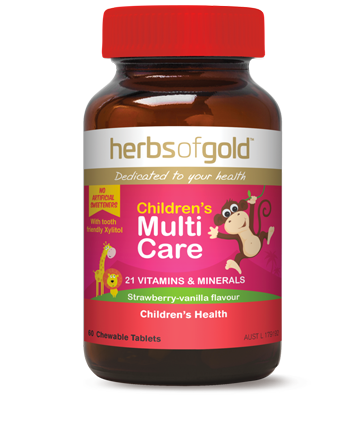 Herbs of Gold Childrens Multi Care   Sporty's Health